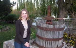 Denise Gardner at Cline Cellars in Sonoma, California