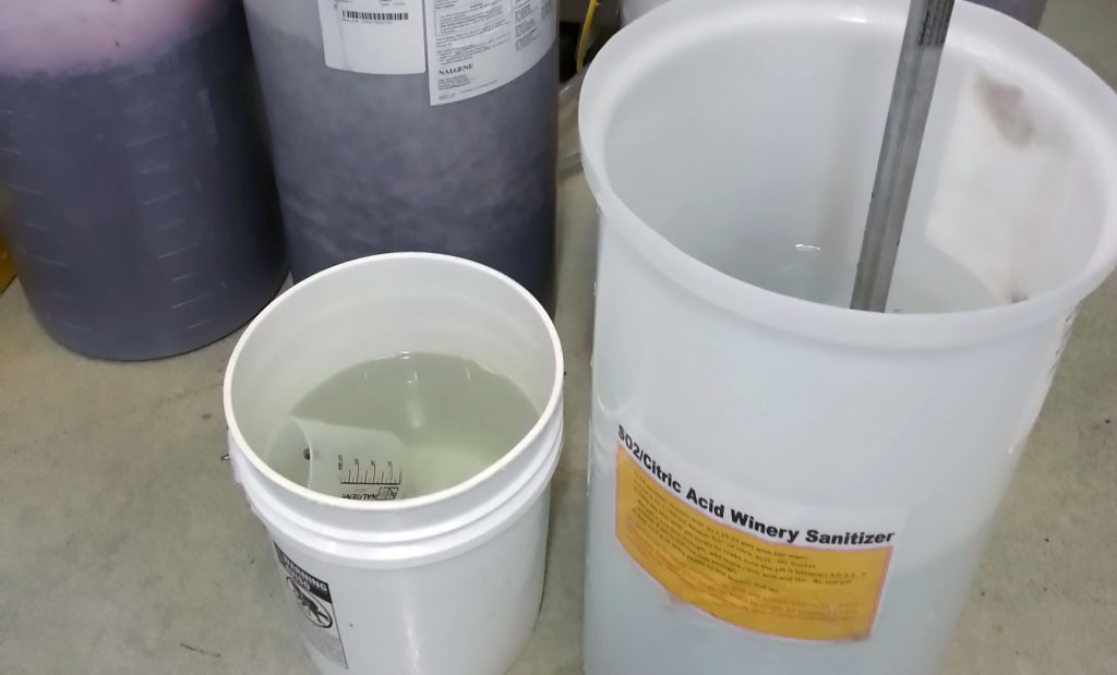 Winery Sanitation Chemicals