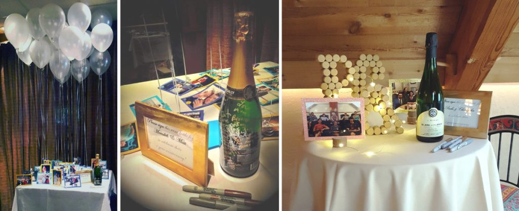 Some Styles Of Sparkling Wine Or Champagne Are Great Selections For Guest Books The Can Be Enjoyed By A Year After Their Wedding